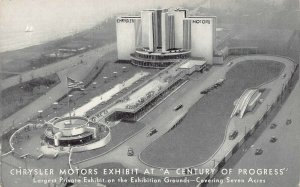LP53  Century Progress Chrysler Motors Exhibit Chicago   Illinois  Postcard
