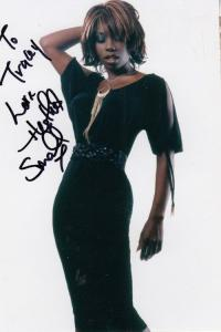 Heather Small M People Hand Signed Photo