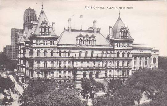 New York Albany State Capitol Artvue