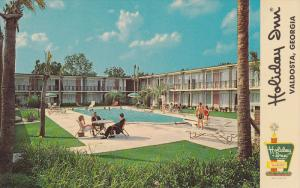 Swimming Pool, Holida Inn, Interstate 75, VALDOSTA, Georgia, 40-60's