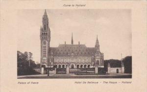 Netherlands Den Haag Peace Palace Hotel De Bellevue