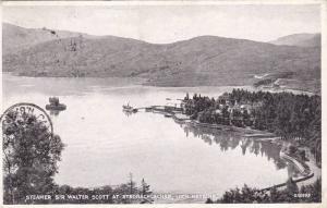 Steamer Sir Walter Scott At Stronachlachar, Loch Katrine, Scotland, UK, 1900-...