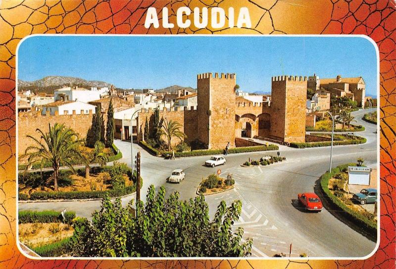 Spain Alcudia Mallorca General view Street Strasse
