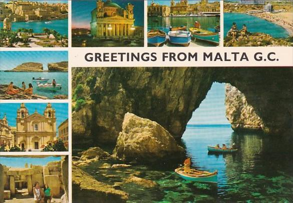 Greetings From Malta Multi View