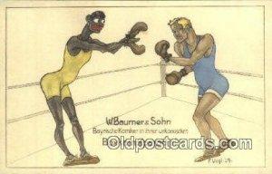 Boxing Comic Unused