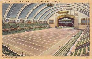 Largest Convention Hall And Theatre In The World Atlantic City New Jersey 1949
