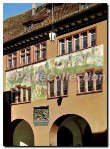 Modern Postcard Appenzell Rathaus Maternei Auszug Zur Schiacht