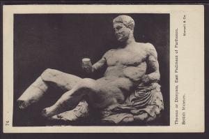 Dionysos,East Pediment of Parthenon,Sculpture Postcard