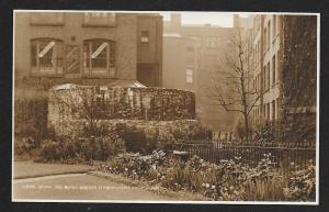 Roman Bastion Cripplegate London England unused c1920's