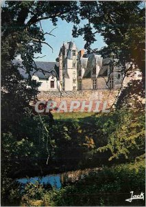 Postcard Modern Colors of Brittany Haute Goulaine Chateau fifteenth