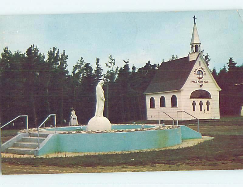 Pre-1980 TOWN VIEW SCENE Tracadie New Brunswick NB o0138