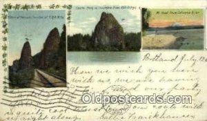 Pillars of Hercules - Columbia River, Oregon