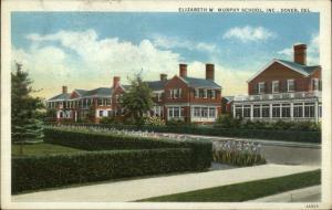 Dover DE Elizabeth Murphy School c1920 Postcard