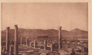 Tunisia Thuburbo-Majus Vue D'Ensemble des Ruines