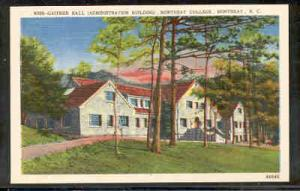 North Carolina postcard Gaither Hall Montreat College