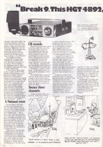 American CB Radio Canadian Mebo II Pirate Ship Magazine