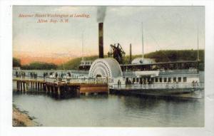New Hampshire Alton Bay  Paddle Wheel Steamer Mount Washington