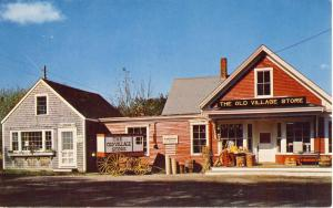 Barnstable, Mass/MA Postcard, The Old Village Store,Cape Cod