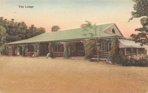 LPS73 New Market Virginia Endless Caverns Lodge Postcard Hand Colored Albertype