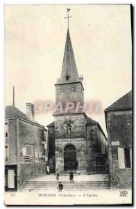 Old Postcard The Church Mezidon