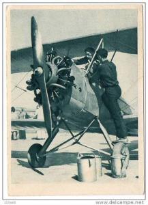 Aeroklub Czech Republic ReFueling Airplane Bi-plane, 10-20s
