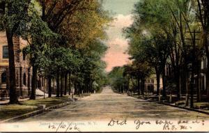 New York Syracuse James Street 1906