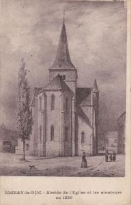 AIGNAY-LE-DUC , France , PU-1918 ; Abside de l'Eglise