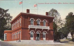 Custom House And Post Office Belfast Maine