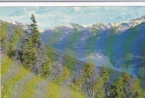 Canada Cheakamus Lake From Whistler Mountain Garibaldi Park British Columbia