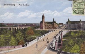 Pont Adolphe, Bridge (Side View), Luxembourg, 1900-1910s