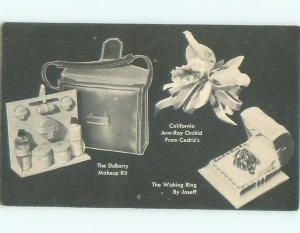 Pre-1980 This Is A Postcard MAKEUP KITS AND OTHER ITEMS POSTCARD AD AC7338