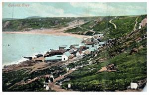 2968  Ireland Cornwall  Aerial View  Sennen Cove