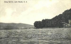 Snug Harbor Lake Keuka NY Postal Used Unknown