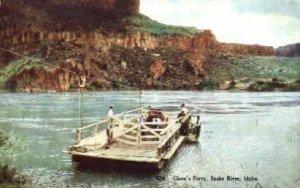 Glenn's Ferry - Snake River, Idaho ID