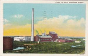Kansas Hutchinson Carey Salt Plant 1948 Curteich