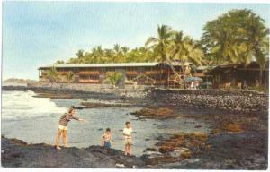 Waiaka Lodge, Kona, Island of Hawaii, Pre-zip Code Chrome