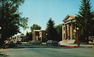 Carson City, NV, Court House, State Highway Bldgs., Vintage Postcard g5470