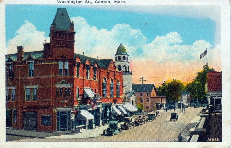 [ Moulton ] US Massachusetts Canton - Washington Street