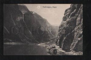 061258 NORWAY Gudvangen Sogn Vintage PC