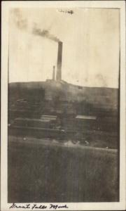 Great Falls MT Smelter c1910 Real Photo Postcard
