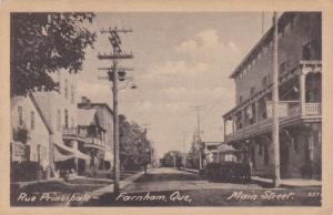 Rue Principale , , FARNHAM , Quebec , Canada , 1910-20s