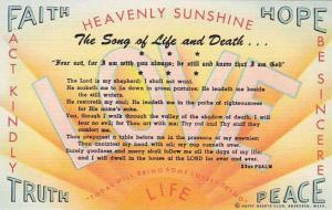 The song of Life and Death,  Happy Hearts Club, Aberdeen, Washington,  30-40s