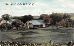 the elms goffs falls new hampshire L4545 antique postcard