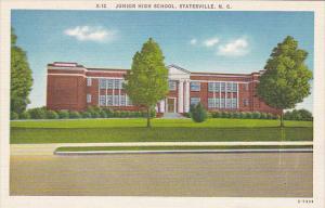 Junior High School Statesville North Carolina