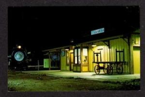 CALIFORNIA CA CALIF LA MESA Railroad Train Station Depot Postcard