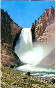 Haynes P28 SERIES #546 Lower Falls of the Y'stone, Yellowstone National Park