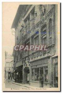 CARTE Valencia Old Post House Heads Grande Rue Au Progres