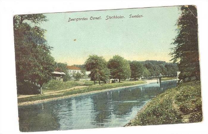 Deergarden Canal. Stockholm.  , Sweden , 00-10s