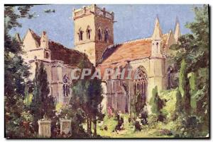 Old Postcard The Church Dives