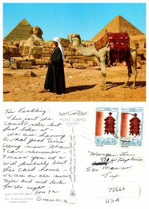 The Spinix and the Pyramids of Cheops and Chephren, Egypt